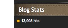 14,000 hits